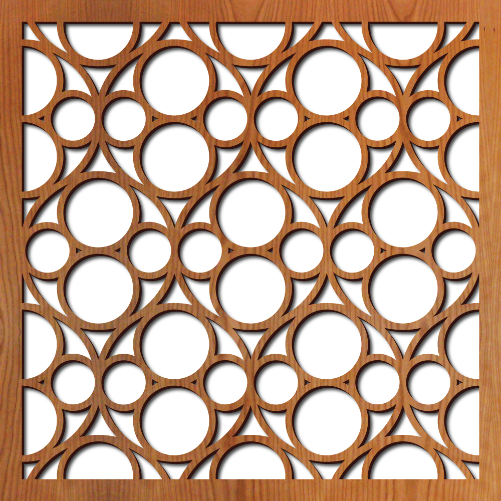 Burbank Laser Cut Pattern Lightwave Laser