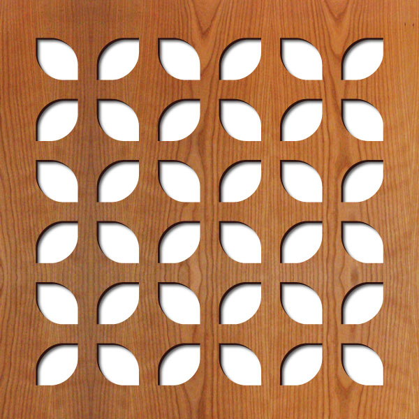 "Copenhagan pattern at 23"" x 23"" scale"