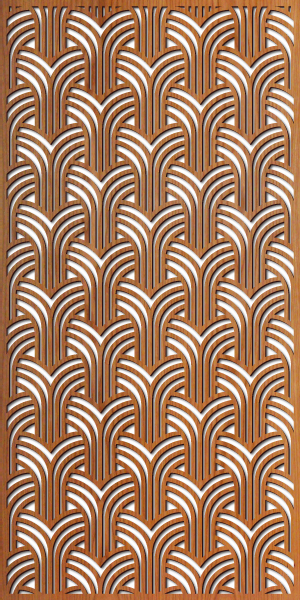 Gatsby Arches pattern at 4' x 8' scale