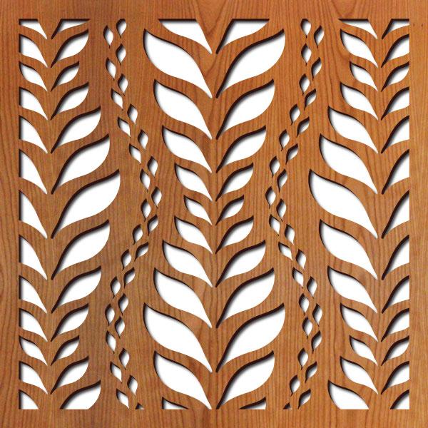 "La Jolla pattern at 23"" x 23"" scale"