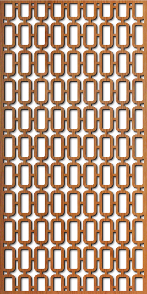 Mezzo Grille pattern at 4' x 8' scale