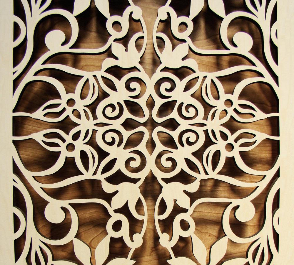 Spring Vines pattern detail