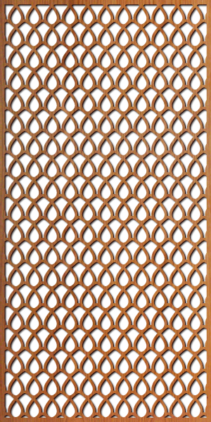 Woven Wire pattern at 4' x 8' scale