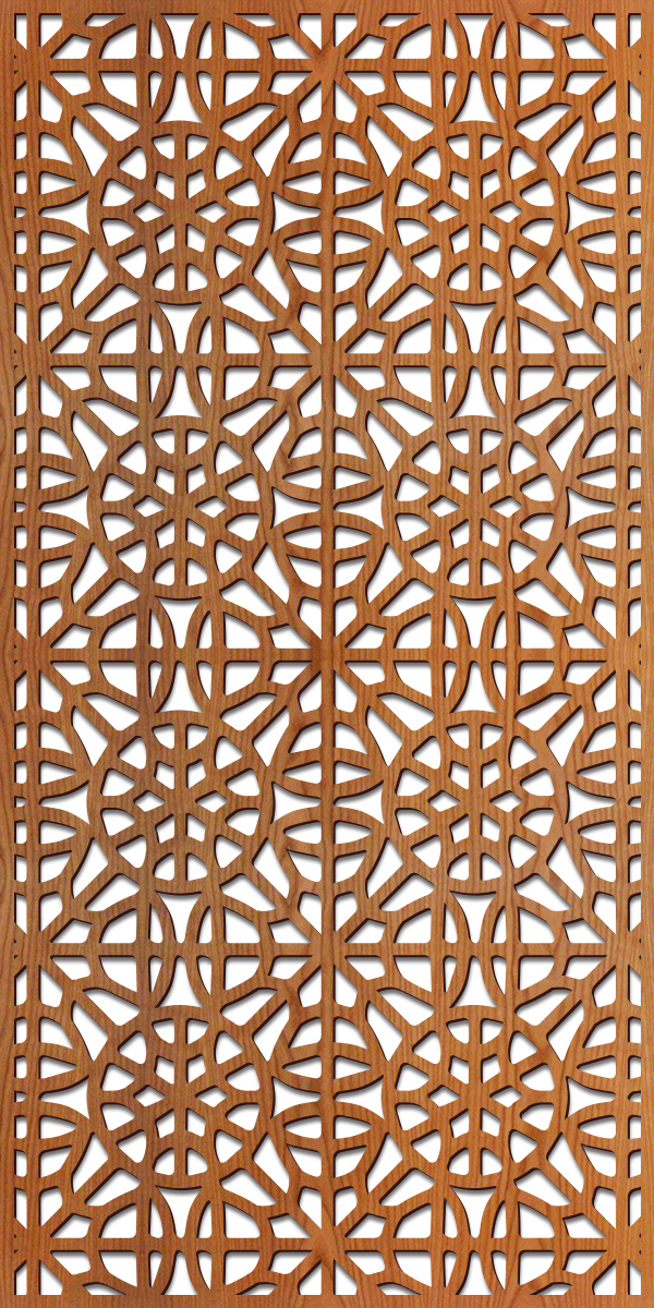 Brooklyn pattern at 4' x 8' scale