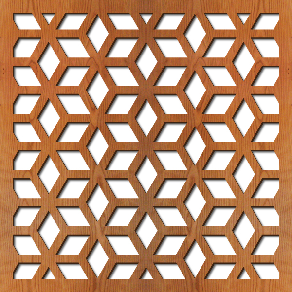 Casablanca Laser Cut Pattern Lightwave Laser