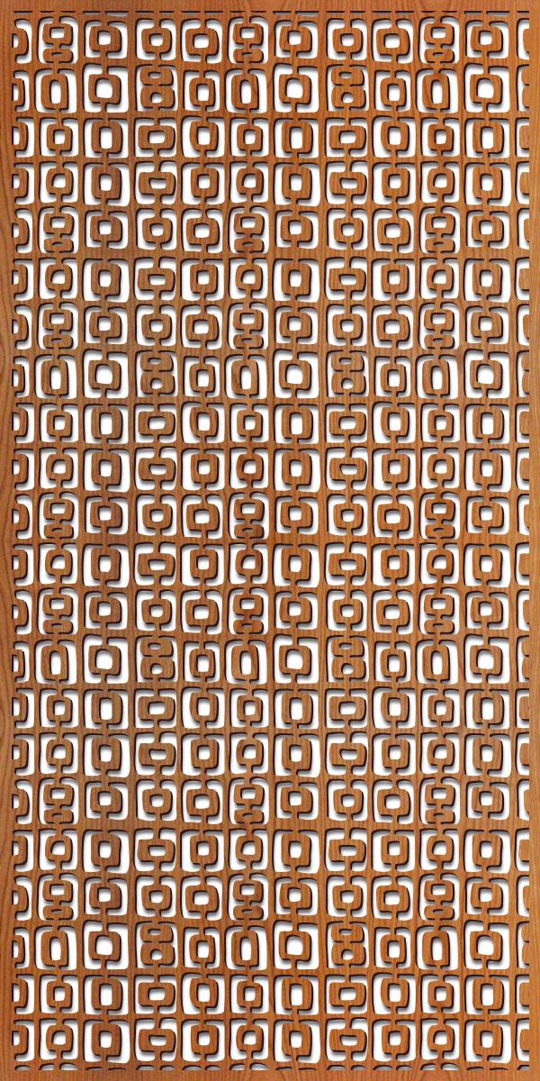 Dallago pattern at 4' x 8' scale