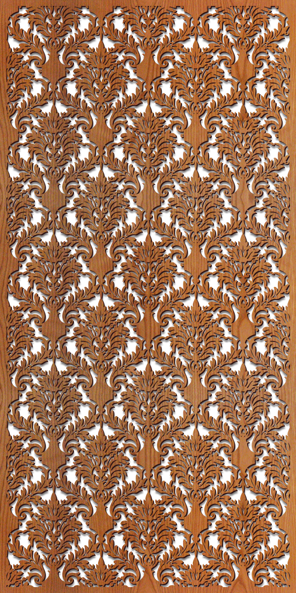 Damask rendering 4 ft. x 8 ft.