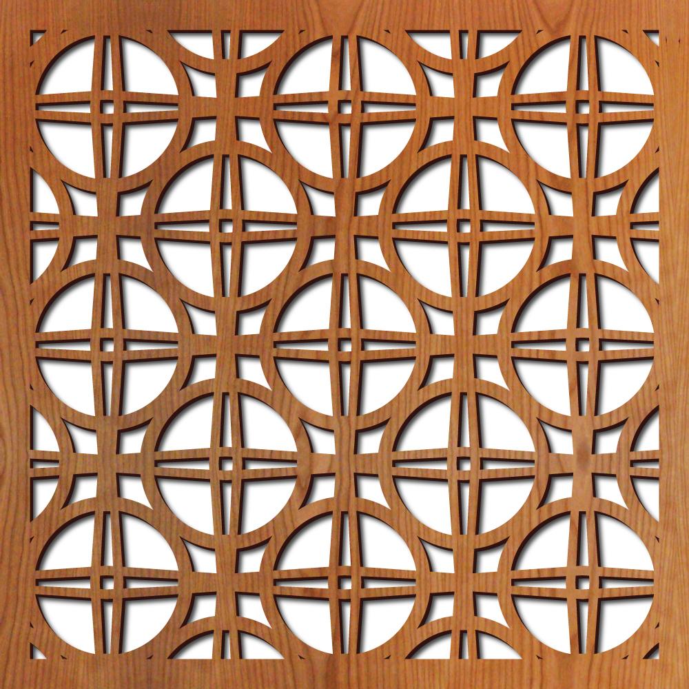 "El Paso pattern at 23"" x 23"" scale"