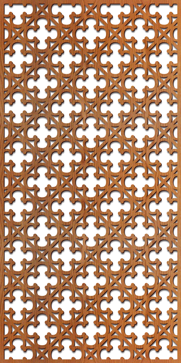 Gothic Grille pattern at 4' x 8' scale