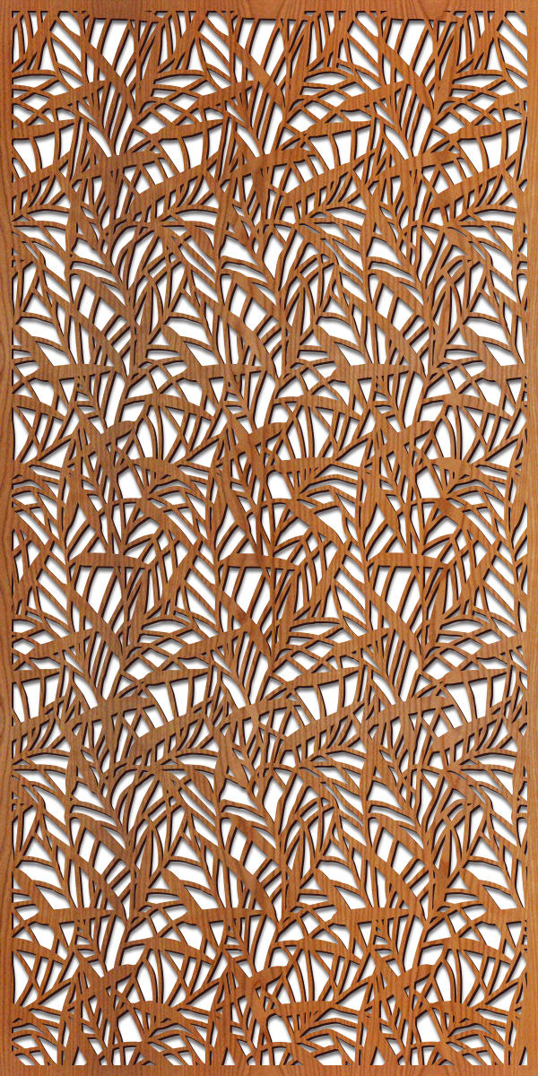 Japanese Bamboo pattern at 4' x 8' scale