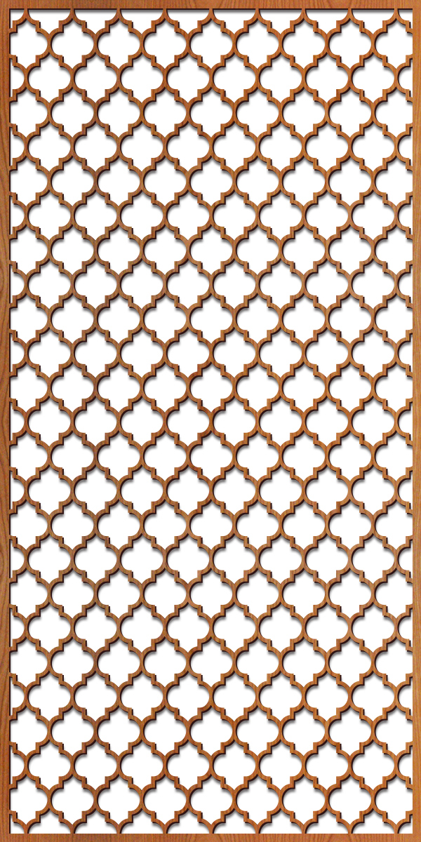 Arabesque 2 - 4' x 8' scale