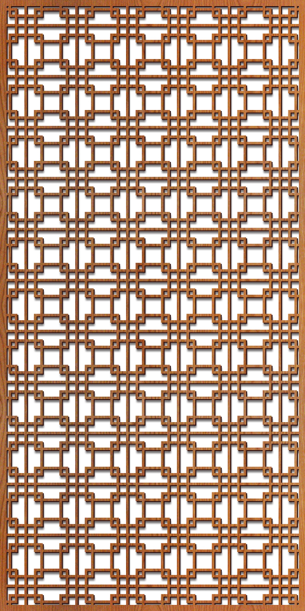 Tokyo Grille pattern at 4' x 8' scale