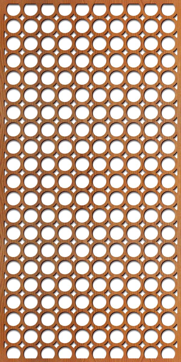Santa Monica pattern at 4' x 8' scale