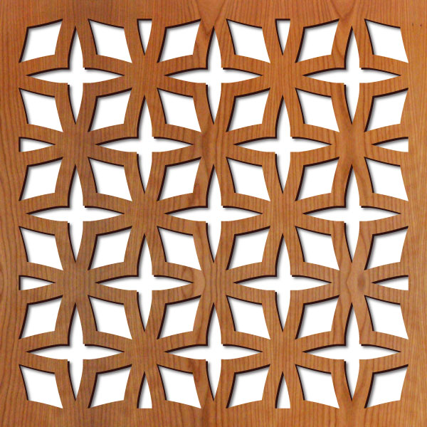 """Rota Star pattern at 23"""" x 23"""" scale"""