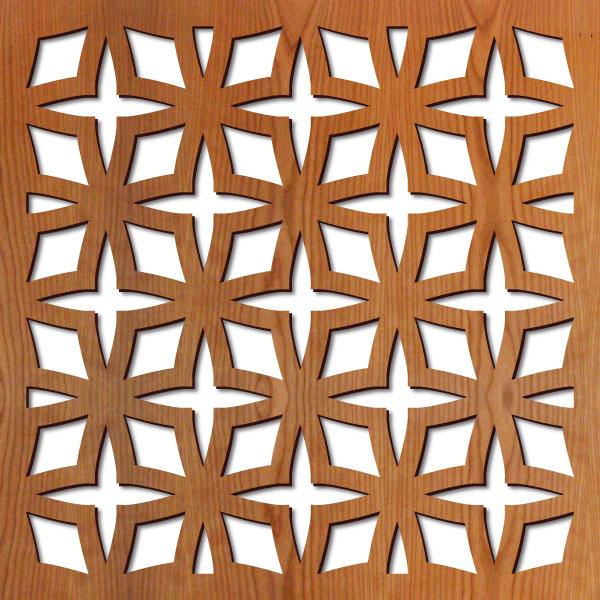 Rota Star Laser Cut Pattern Lightwave Laser