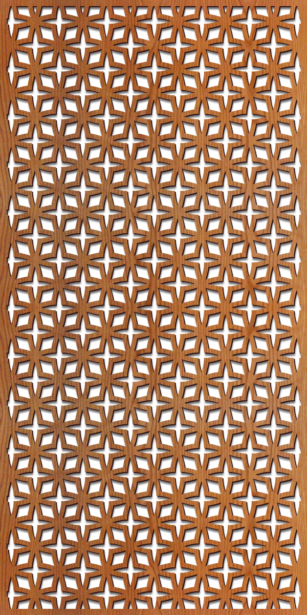 Rota Star pattern at 4' x 8' scale