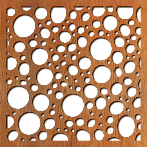 River Rock Laser Cut Pattern Lightwave Laser