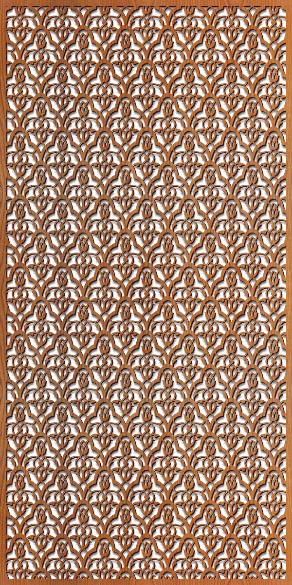 Moorish Leaves rendering at 4 ft. x 8 ft.