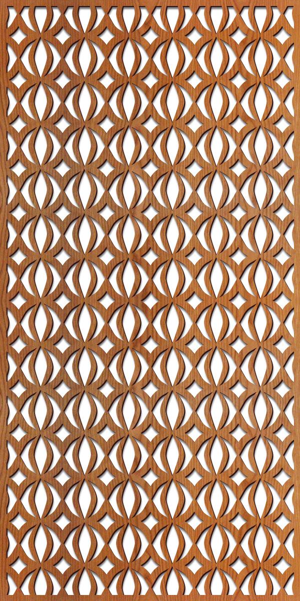 Corcovado pattern 4' x 8' scale