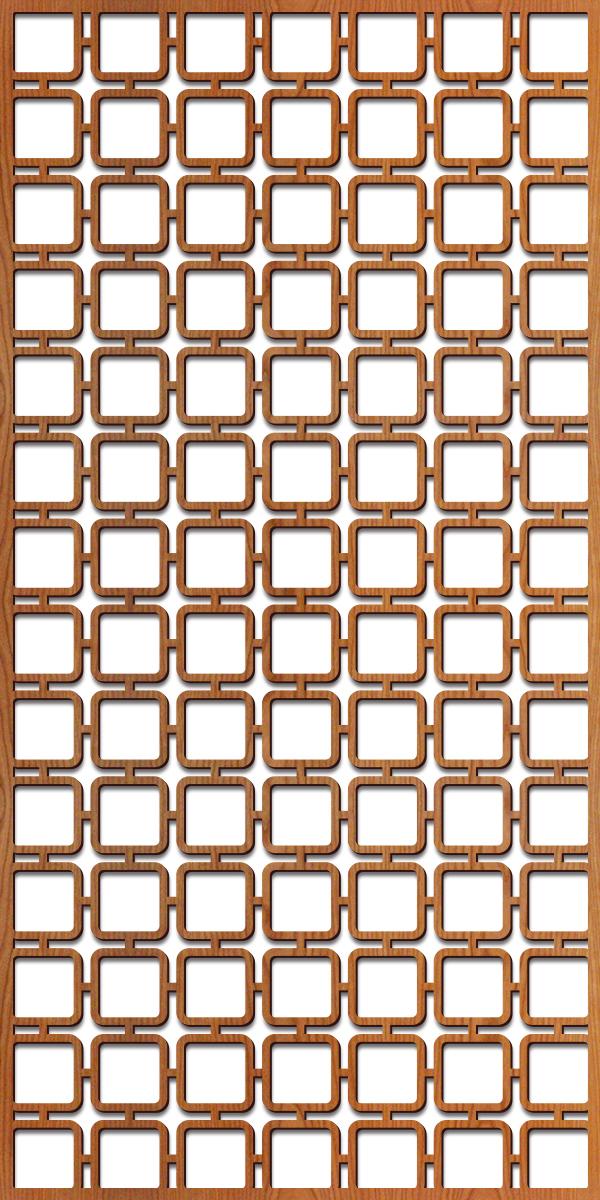 Square Mezzo pattern at 4' x 8' scale
