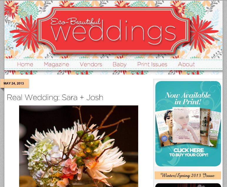 Eco-Beautiful Weddings Feature