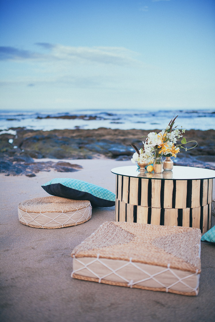 Beach wedding in Playa Langosta