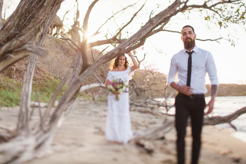 tamarindo elopement photos