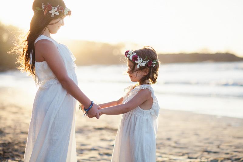 flower girl sisters