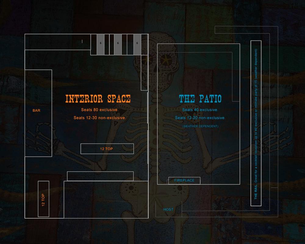 Galaxy Taco Floorplan