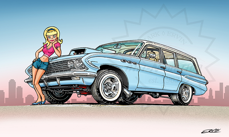 "Another Mark Ervin original, ""61 Special"""