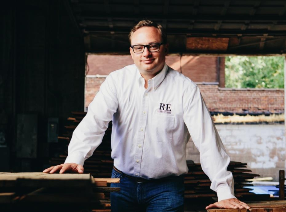 Jason Gilbreath, Founder and Owner of Reclaimed Enterprises