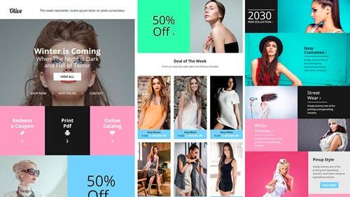 Newsletter - Llega a tu público con envíos comerciales de calidad con contenidos atractivos.