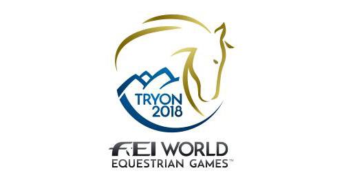 WEG Tryon 2018 logo