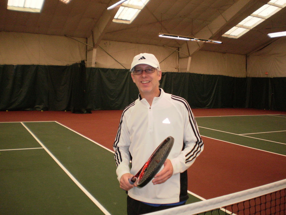 JIM MELESKO   Jim has taught at the Nick Bollettieri Tennis Academy in FL working with young aspiring juniors like Maria Sharapova and Tatiana Golovin.  He's traveled around the world conducting promotional clinics. Jim has taught in the greater Hartford area for the past 10 years three of which as the head pro at the Newing Tennis Center. Jim is looking forward to teaching all ability levels and sharing his love for the game.