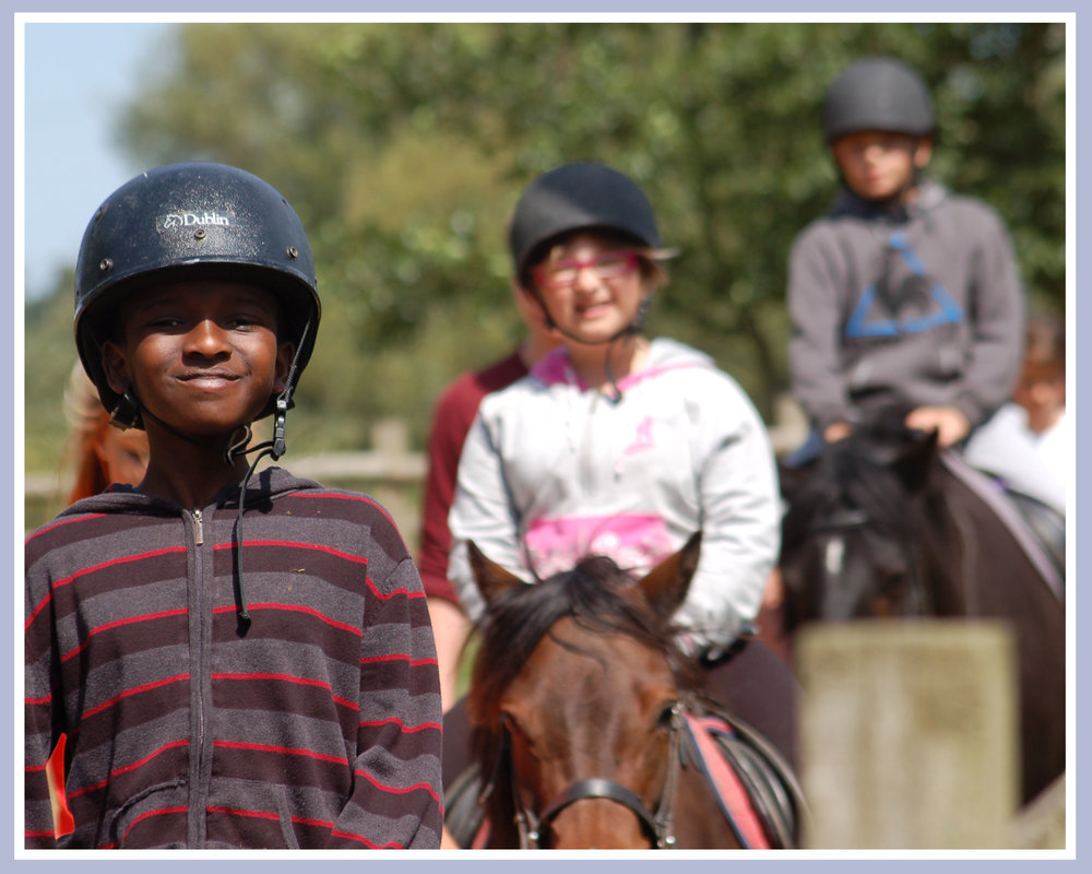 £22 allows a child to go horseriding