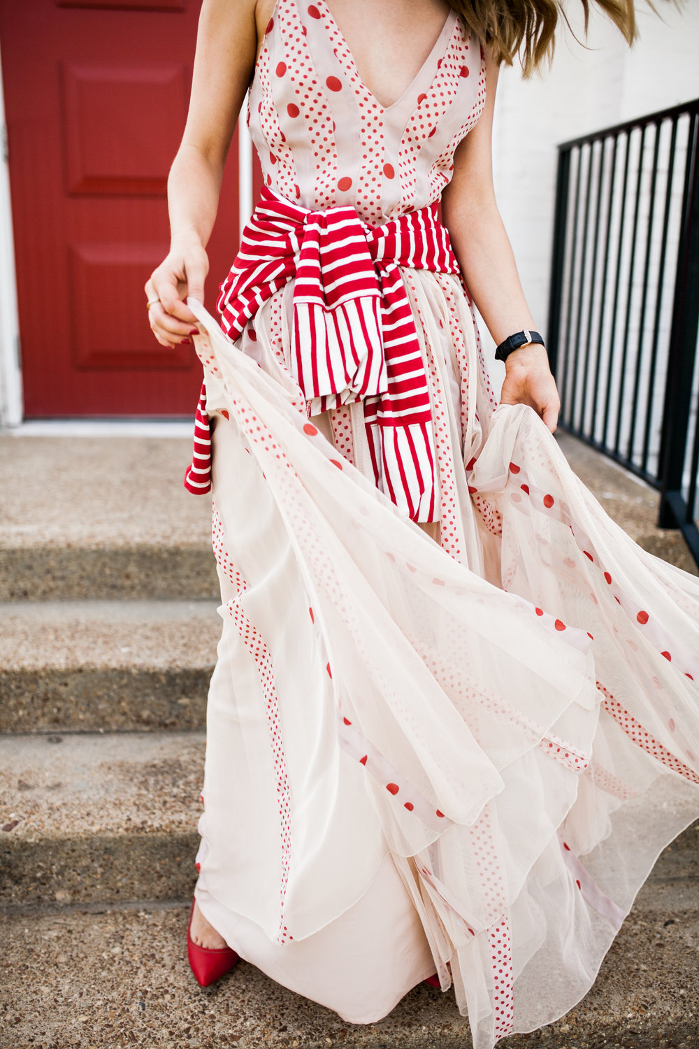 nude-and-red-polka-dot-maxi-dress.jpg