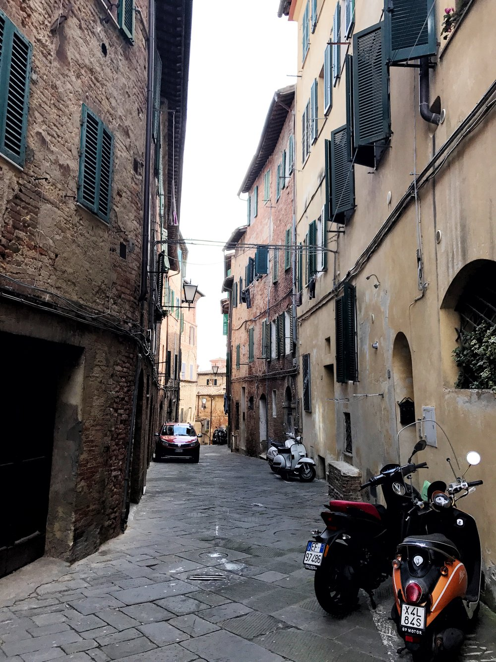 Streets of Siena, Italy