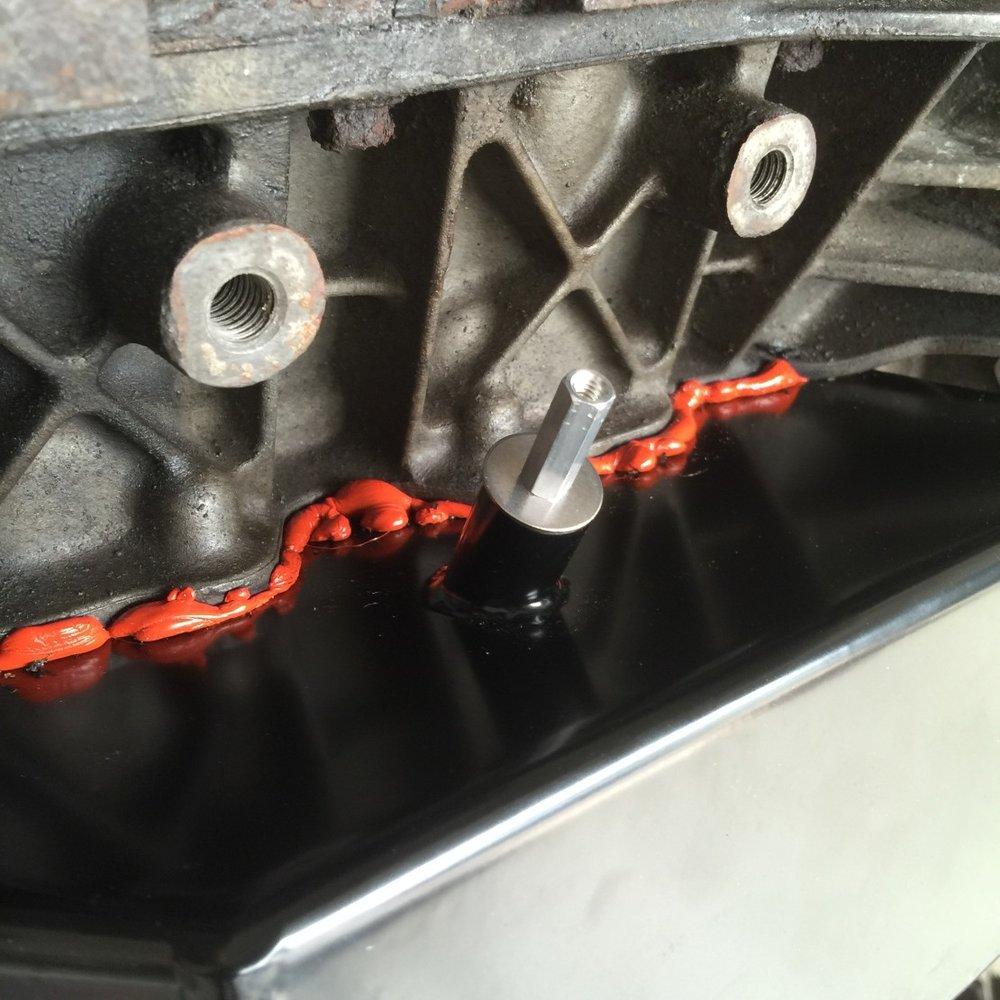 Turbo drain plug.