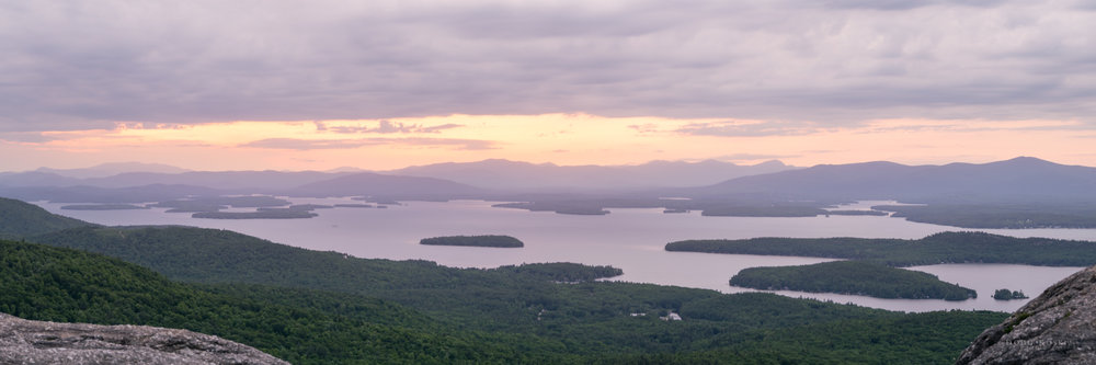 Winnipesaukee from Mt. Major