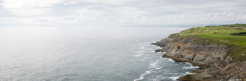 Irish Coast off Old Head