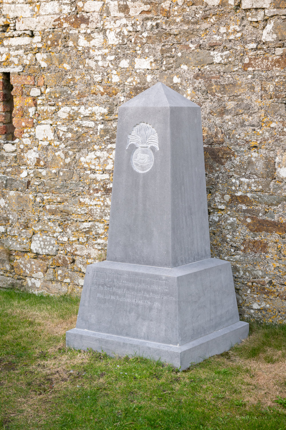 In Memory of… - the officers, non-commissioned officers, and men of the Royal Munster Fusiliers, 1881 - 1922. Formerly, the Royal Bengal Fusiliers and the Bengal Fusiliers, 101st and 104 Regiments of Foot. 1756 - 1881.