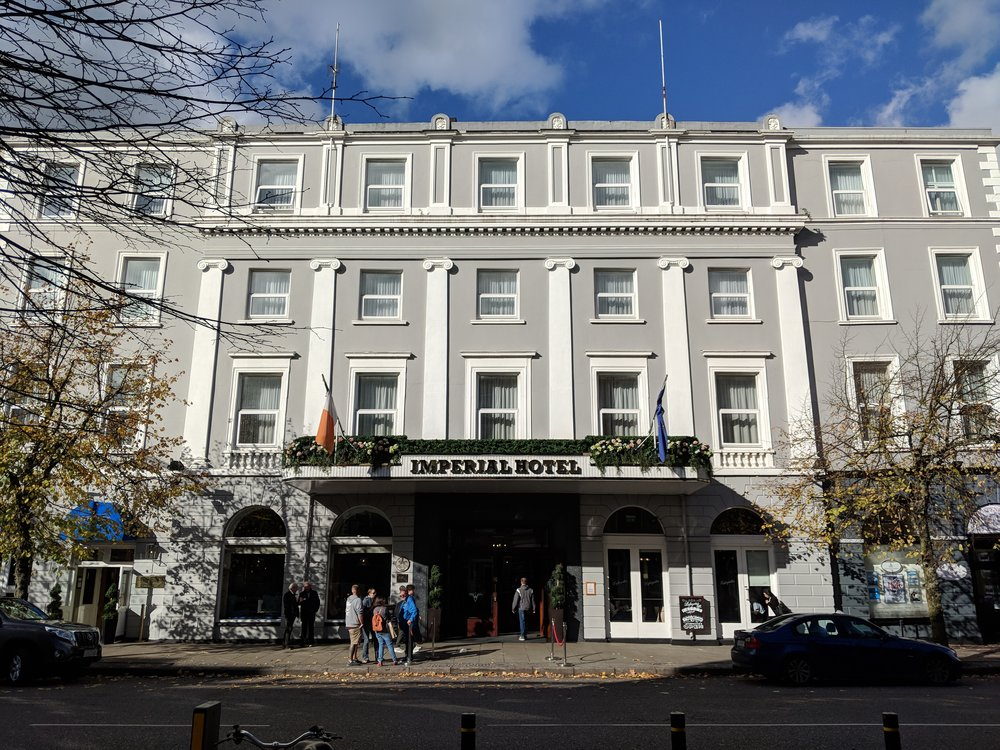 This hotel is famous for being last place Michael Collins slept before the ambush that brought his death.