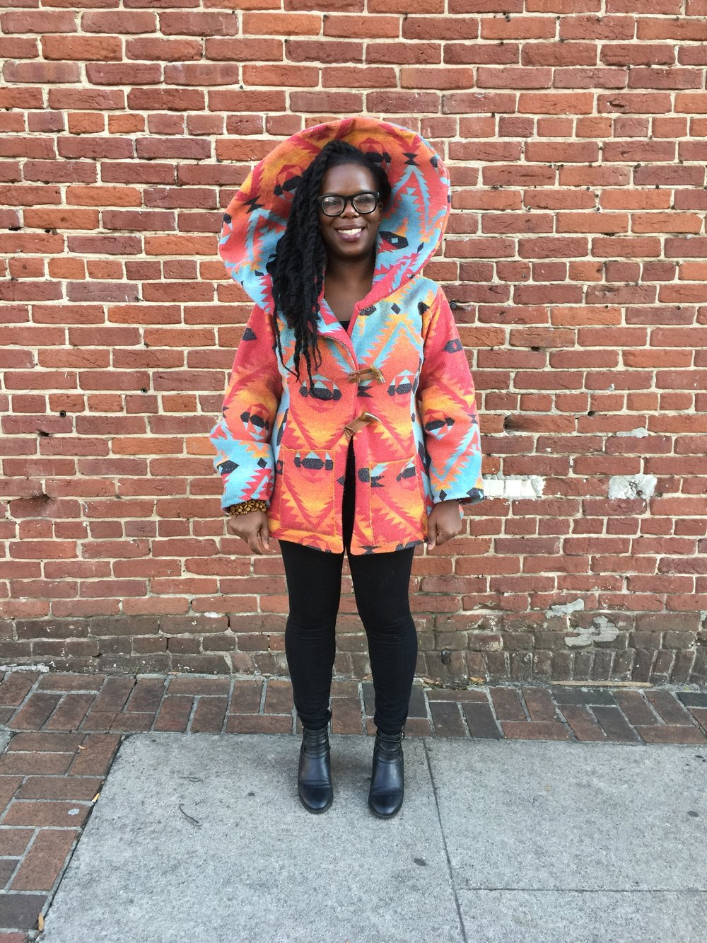 Shanika pichey   Shanika Pichey is a textile artist, blogger (Life is Pichey), DIY enthusiast and self-taught maker. She also owns Sebastian Harper, a clothing and accessories line that creates one-of-a-kind pieces by using natural dyes and upcycled material.