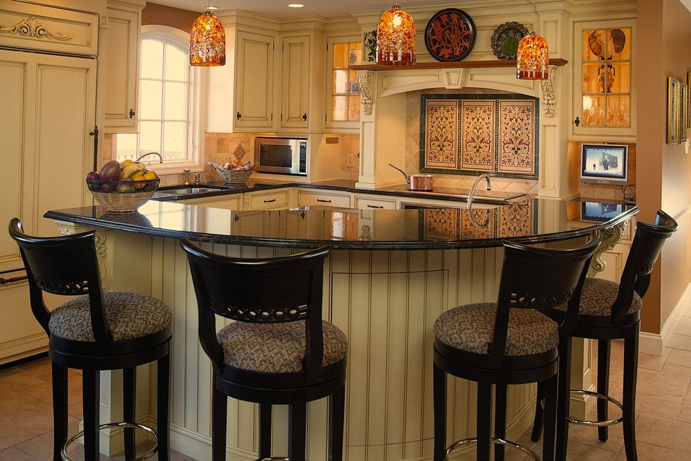 Bucks County Kitchen with Custom Cabinetry
