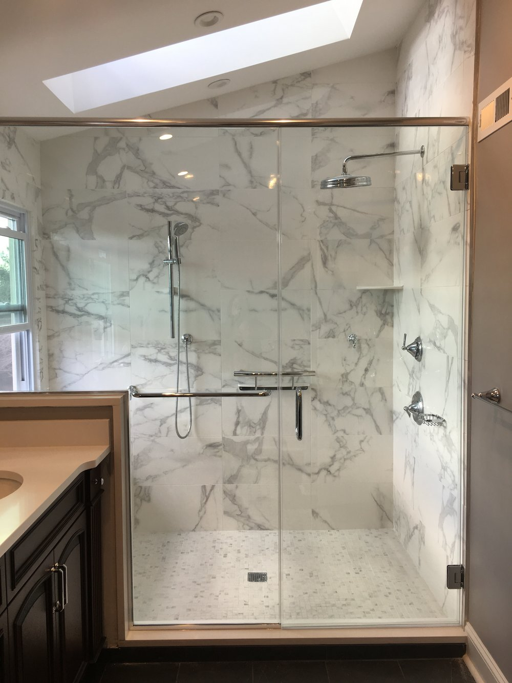 Granite Shower Bathroom