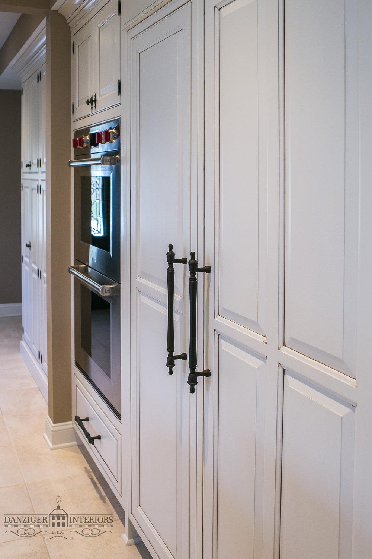 Seamless Inset Sub Zero Refrigerator