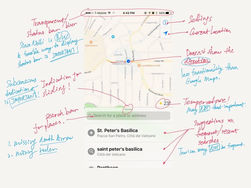 Study on Apple Maps