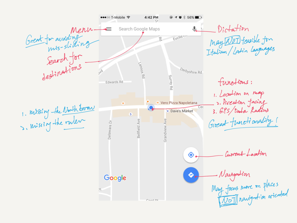 Study on Google Maps