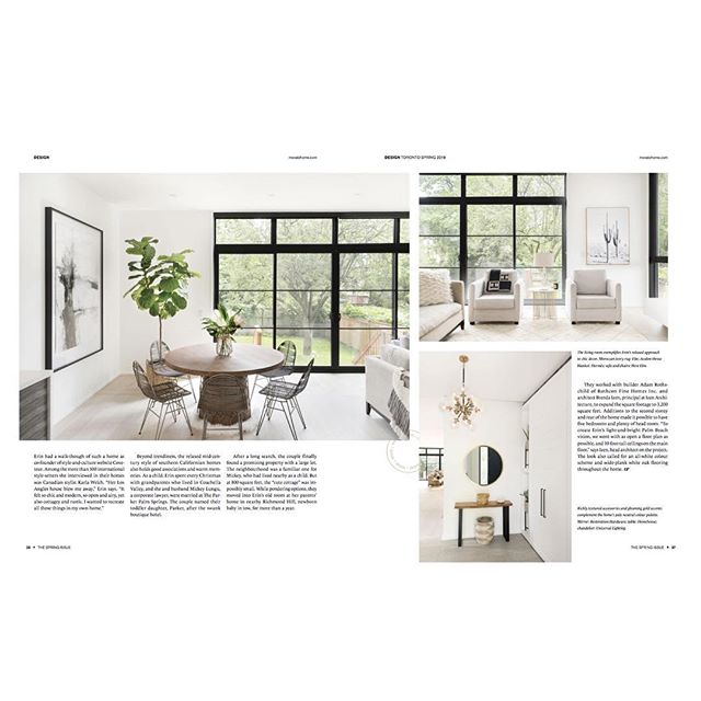 Check out the latest @movatohome @to_home_mag issue to read about @erinkleinberg 's Palm Springs inspired oasis by @rothconfinehomes. - Link in bio -