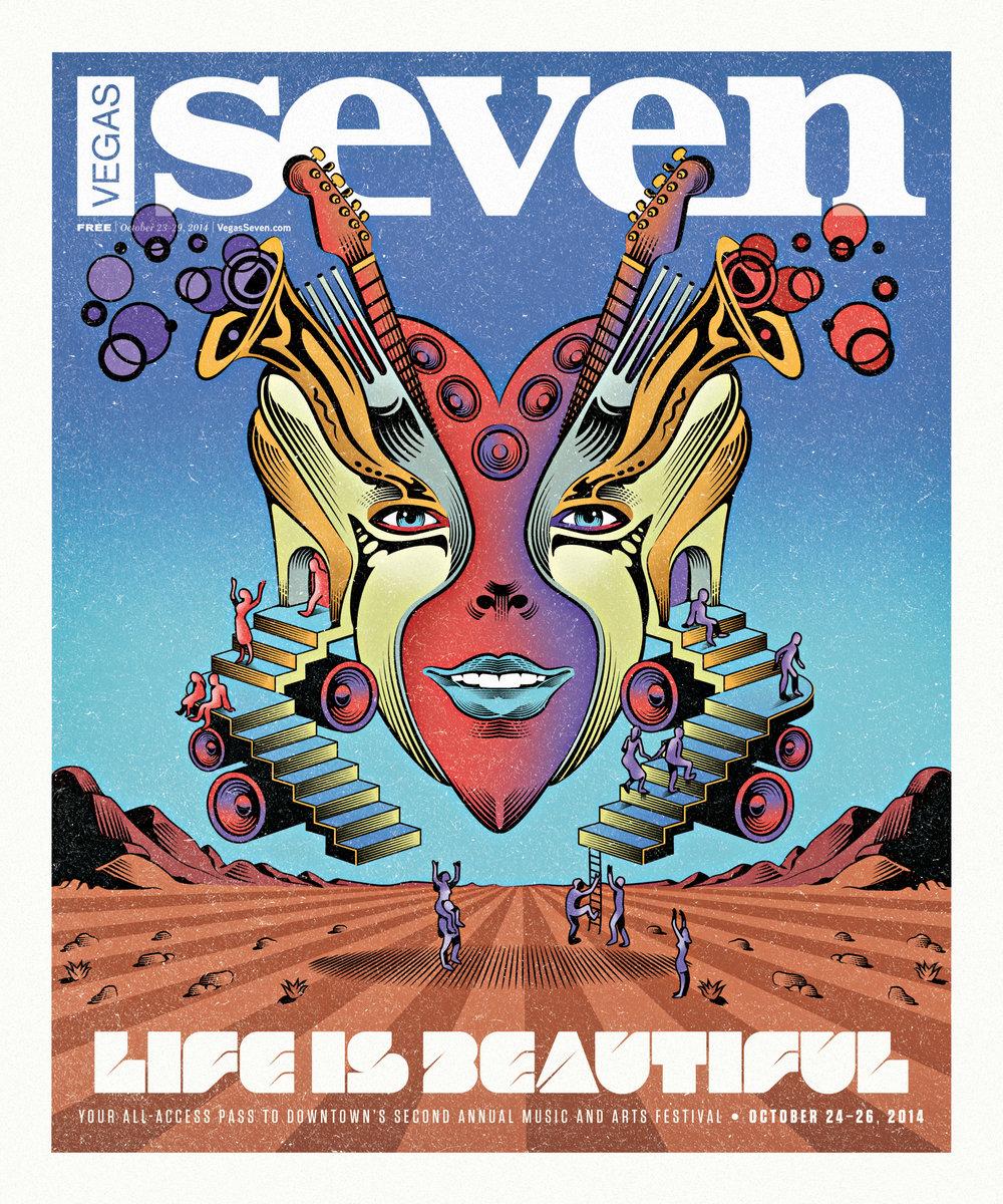 Yann Legendre ,  Vegas Seven , 2014